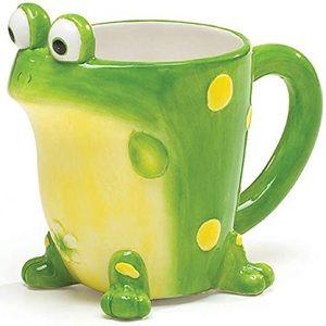 Frog mug burton+BURTON Toby the toad coffee cup